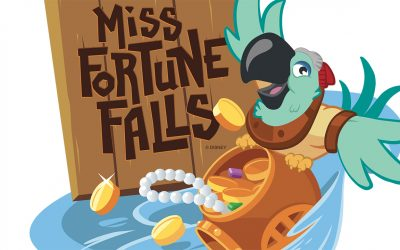 New Attraction Coming to Disney's Typhoon Lagoon Spring 2017 – Miss Fortune Falls'