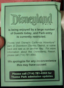 Disneyland Full Pamplet
