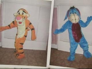 Fale Tigger and Eyeore Costumes