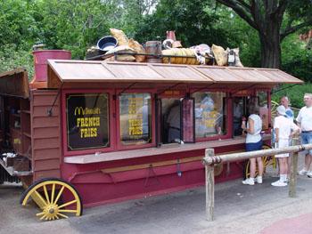 Frontierland Fry Cart