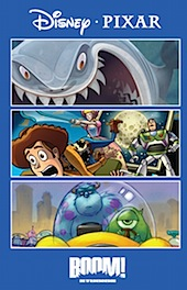 Disney and Pixar Coming Soon To a Comic Book Near You