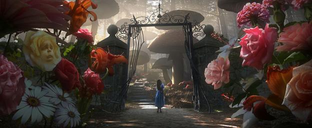 "Tim Burton's ""Alice in Wonderland"" Movie Trailer Released"