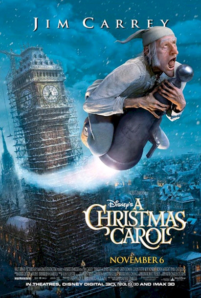 "Movie Trailer for Disney's ""A Christmas Carol"""