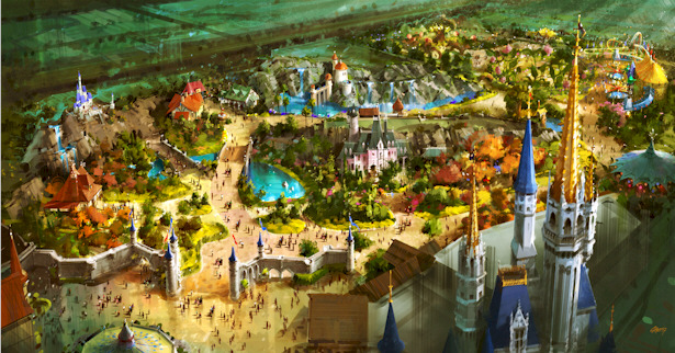 D23 Expo: Magic Kingdom Fantasyland Expansion Concept Art