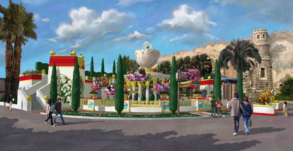 Jasmine's Flying Carpets Coming To Tokyo Disney Sea in 2011