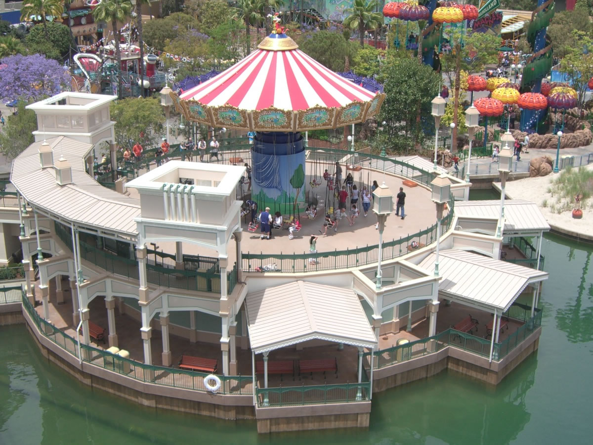 Silly Symphony Swings Debuts at Disney's California Adventure