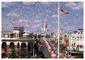 Timeline: Celebrating 40 Years at Walt Disney World