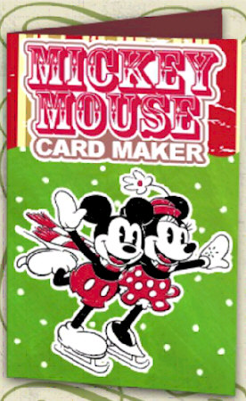 Just In Time For the Holidays: Mickey Mouse Card Maker