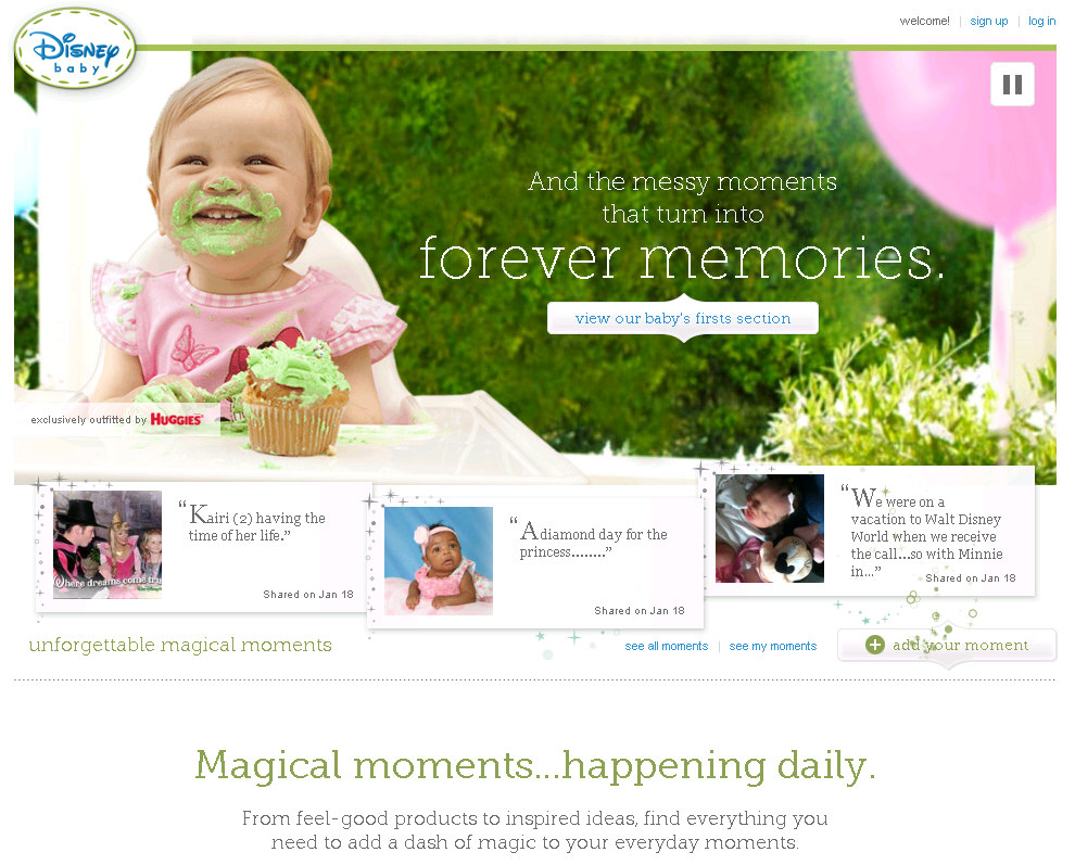 Disney Launches New Site For Expecting and New Parents: DisneyBaby.com