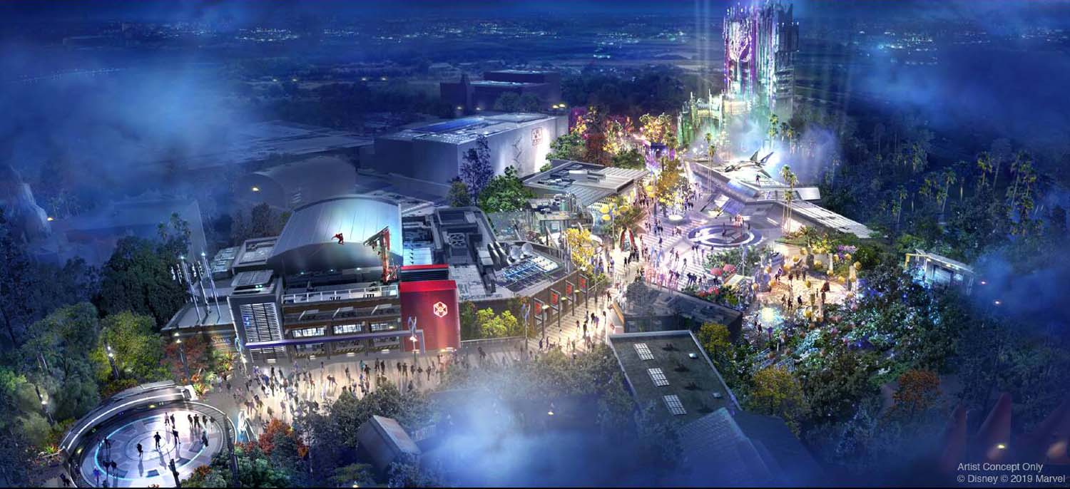 Avengers Campus Coming to Disney California Adventure and Disneyland Paris