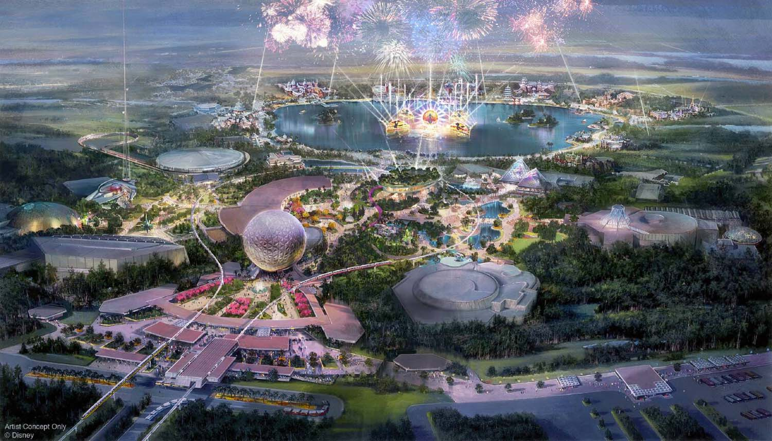 Epcot To Undergo Multi-Year Transformation
