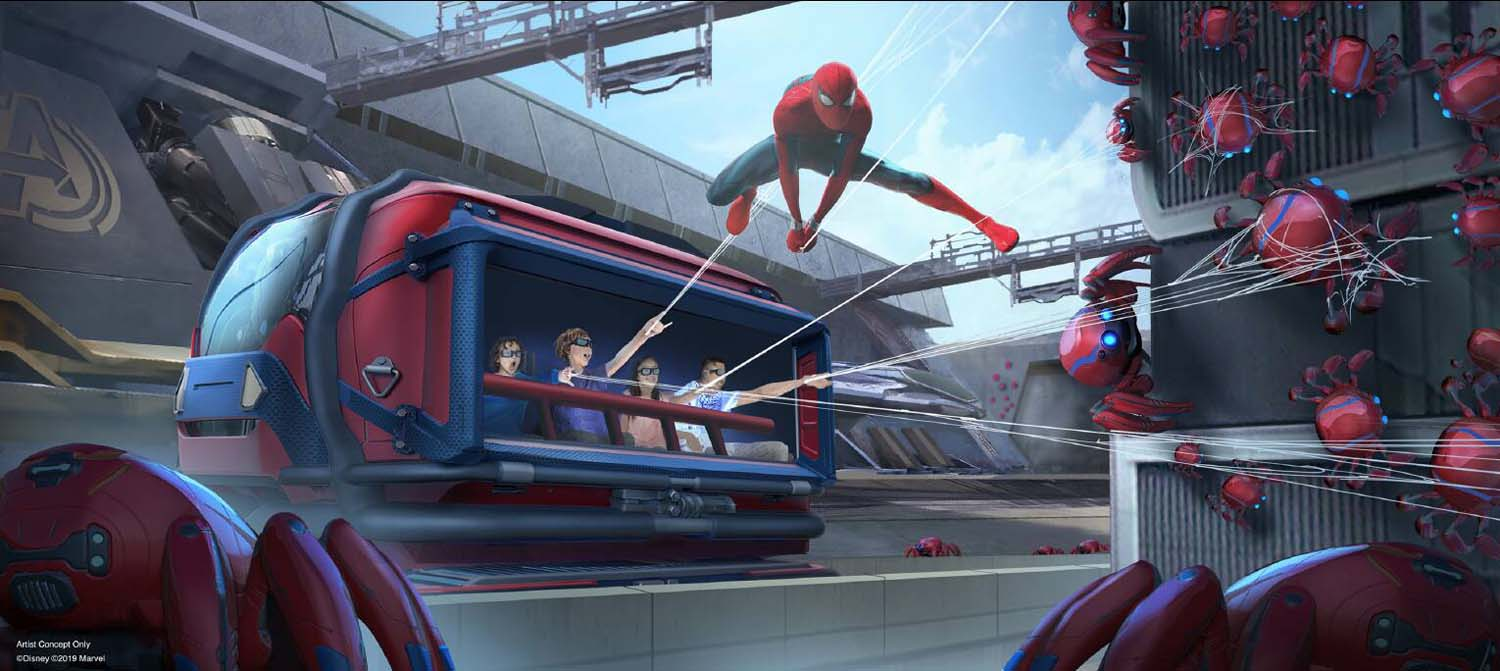 First Disney ride-through attraction to feature Spider-Man
