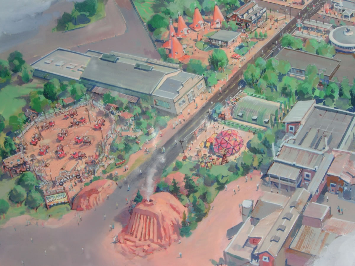 Concept Atr for Entrance to Cars Land