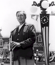 Opening Day at Disneyland