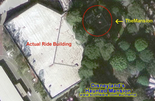 Disneyland S Haunted Mansion Track Layout Disney 176 O 176 Rama