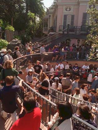 Long Lines at Disneyland