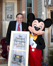 Sherman Brothers Honored with Window on Main Street, U.S.A.