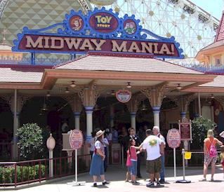 Toy Story Midway Mania - Anaheim